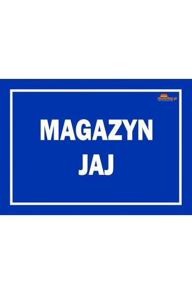 Nr. 61 MAGAZYN JAJ (niebieska)