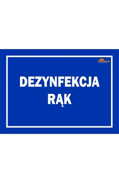 Nr. 58 DEZYNFEKCJA RĄK (niebieska)