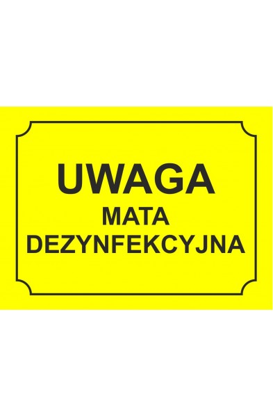 Tablice Informacyjno-ostrzegawcze 23x15cm