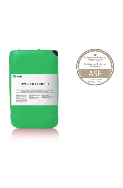 Hypred Force 7 Środek do dezynfekcji pomieszczeńi narzędzi. Zwalcza ASF. 5L.