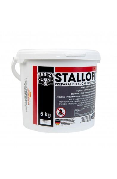 Stallofit 5KG  Sucha Dezynfekcja. Ogranicza wylęganie much.