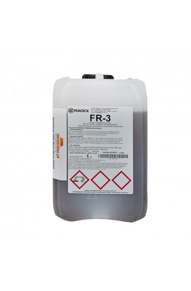 FR-3 - Płyn do mycia pianowego i ręcznego o działaniu odtłuszczającym. Lekko Alkaliczny.