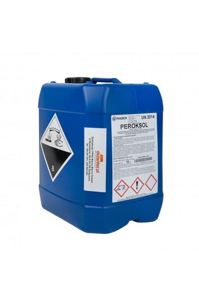 Peroksol - Preparat dezynfekcyjny do sanitaryzacji wody na bazie nadtlenku wodoru