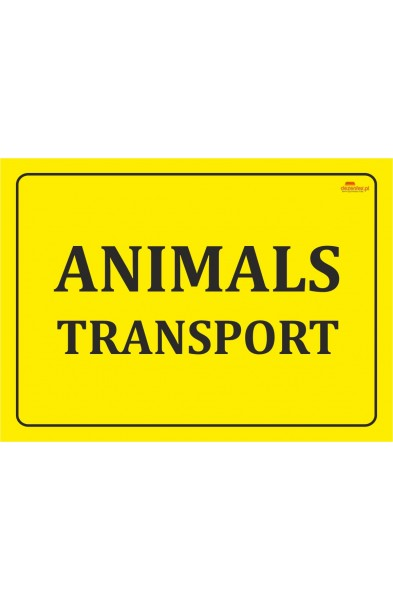 Nr.86 ANIMALS TRANSPORT