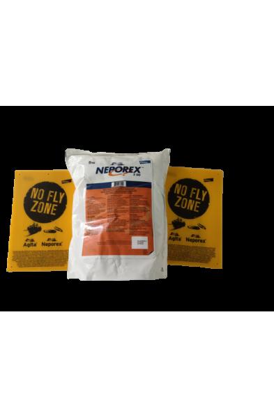 Neporex 2SG 5 KG Skutecznie eliminuje larwy much.