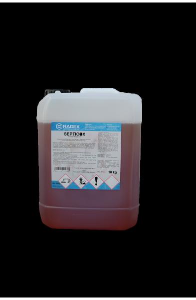 Septicox  20 KG  Kwasowy preparat do mycia i dezynfekcji powierzchni w obszarze weterynaryjnym