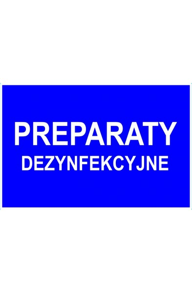 PREPARATY DEZYNFEKCYJNE.