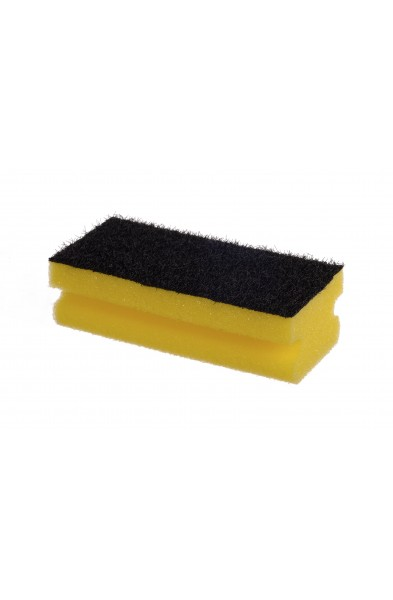 Zmywak profilowany żółty duży ( 14 x 7 x 4,5 cm )
